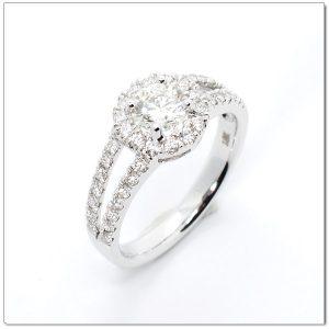 แหวนเพชรล้อมน้ำ 95