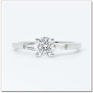 แหวนทองคำขาว แหวนแพลทินัม