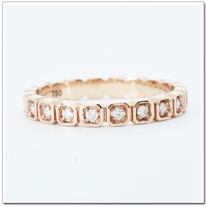 แหวน 18 K pink gold Eternity