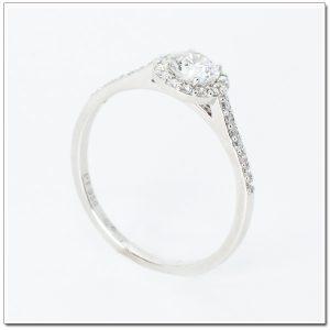 แหวนเพชรล้อม Halo Diamond Ring