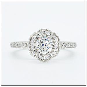 แหวนเพชร ดีไซน์น่ารัก