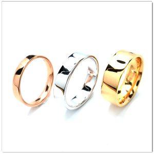 แหวนเกลี้ยง แหวนแต่งงาน แหวนคู่ 1009