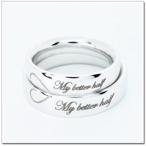แหวนแต่งงาน แหวนเกลี้ยง แหวนคู่สลักอักษร