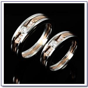 แหวนแต่งงาน แหวนคู่ สองกษัตริย์ GR1099