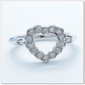 แหวนเพชรทรงหัวใจ