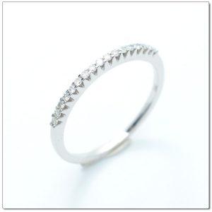 แหวนเพชรเรียง ดีไซน์น่ารัก