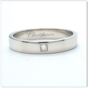 แหวนทองคำขาวผู้ชาย